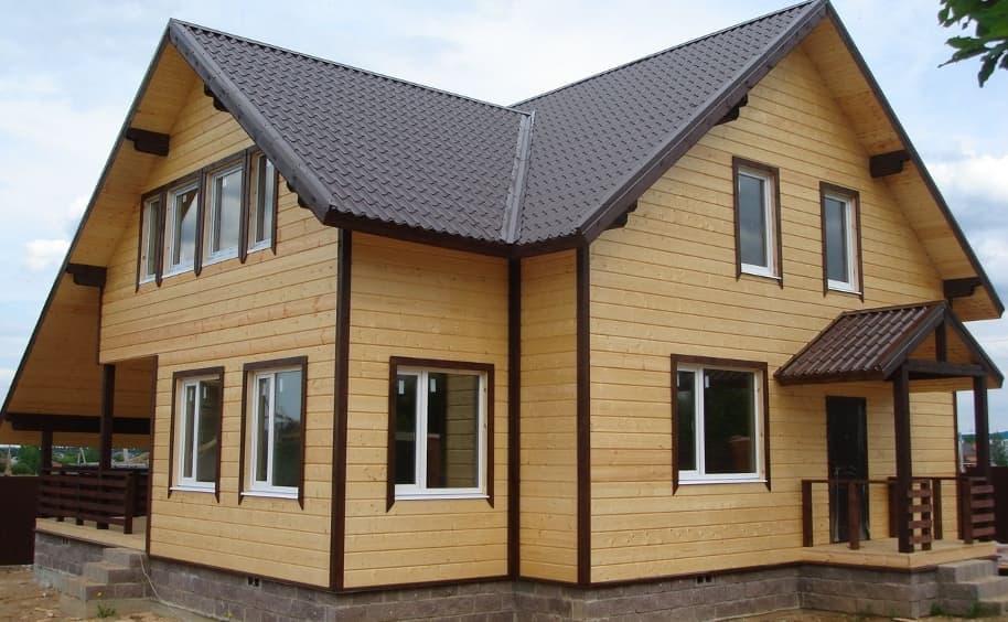 Строительство дома и дешевые материалы