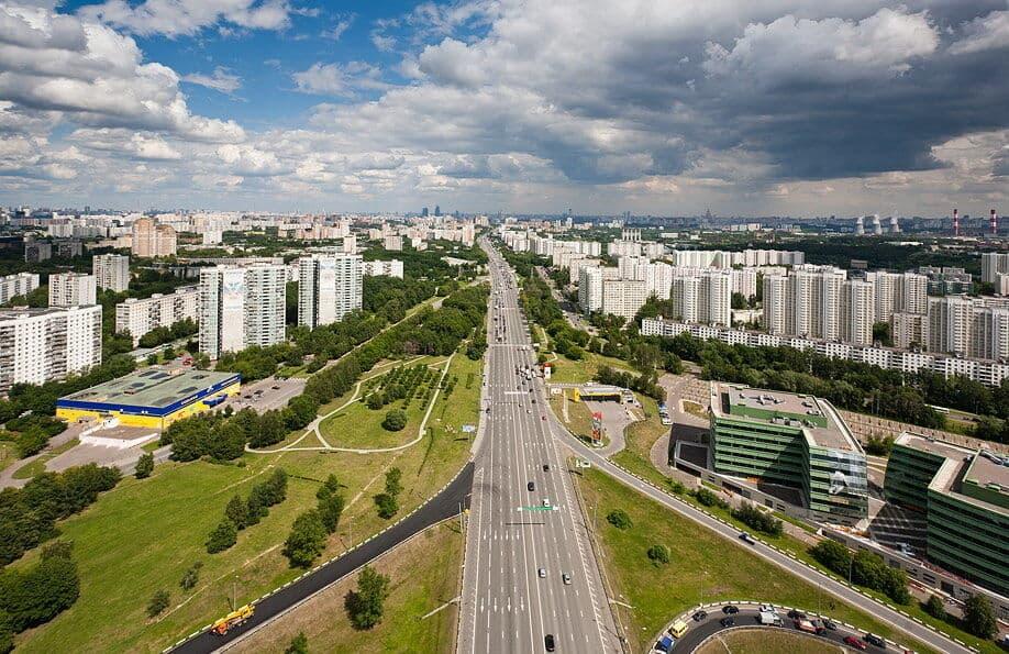 Районы в Москве