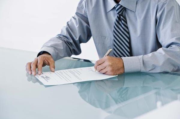 Написание расписки о получении денег