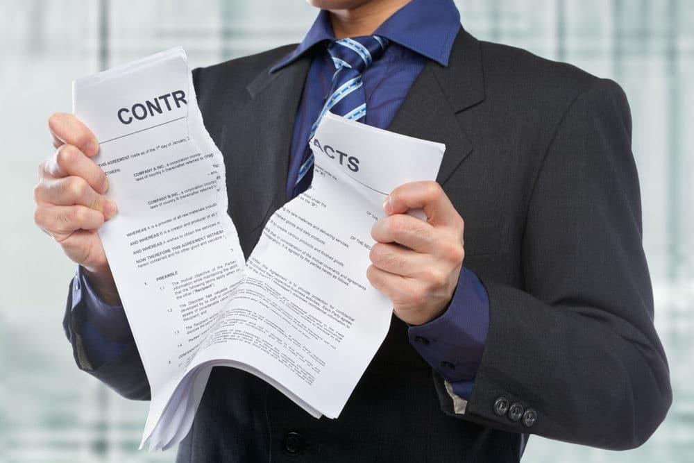 Расторжение договора аренды недвижимого имущества