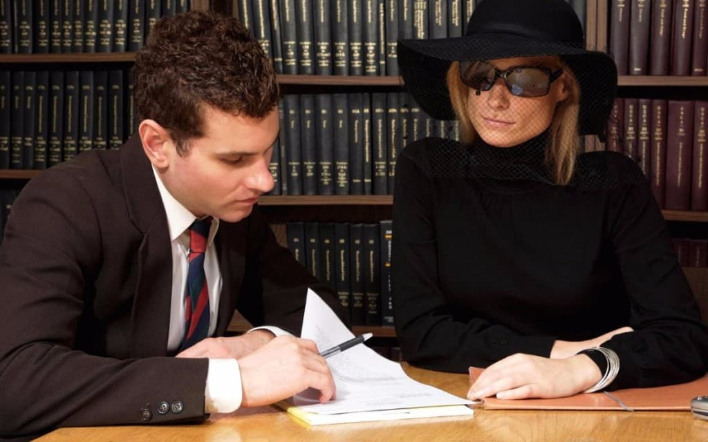 Вступление в наследство после смерти мужа